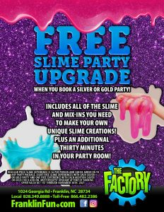 Free Slime Party Upgrade